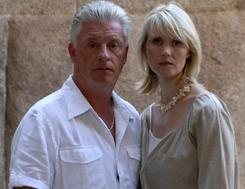 Derek Acorah and Tessa Dunlop